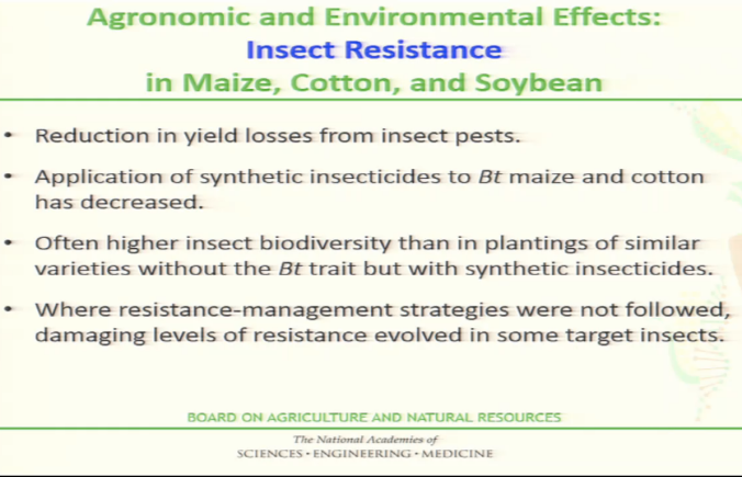 insect resistance